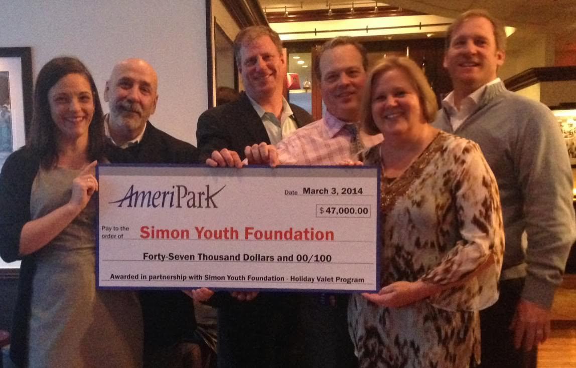 AmeriPark Holiday Valet Program Raises More Than $47,000 for At-Risk Youth