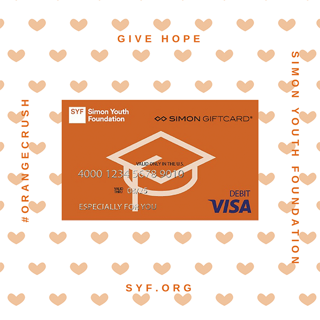 Syf Visa Valentine S Day Giftcard Simon Youth Foundation Syf